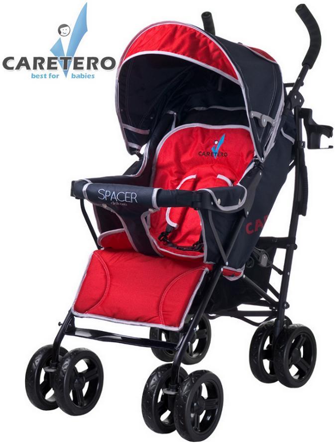 Golfový kočík CARETERO Spacer Deluxe red