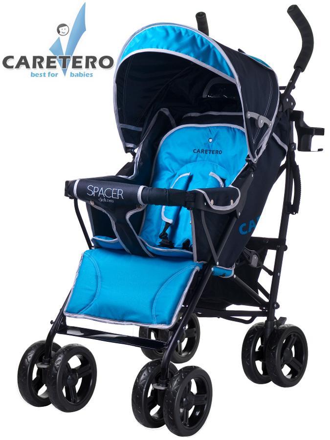 Golfový kočík CARETERO Spacer Deluxe blue