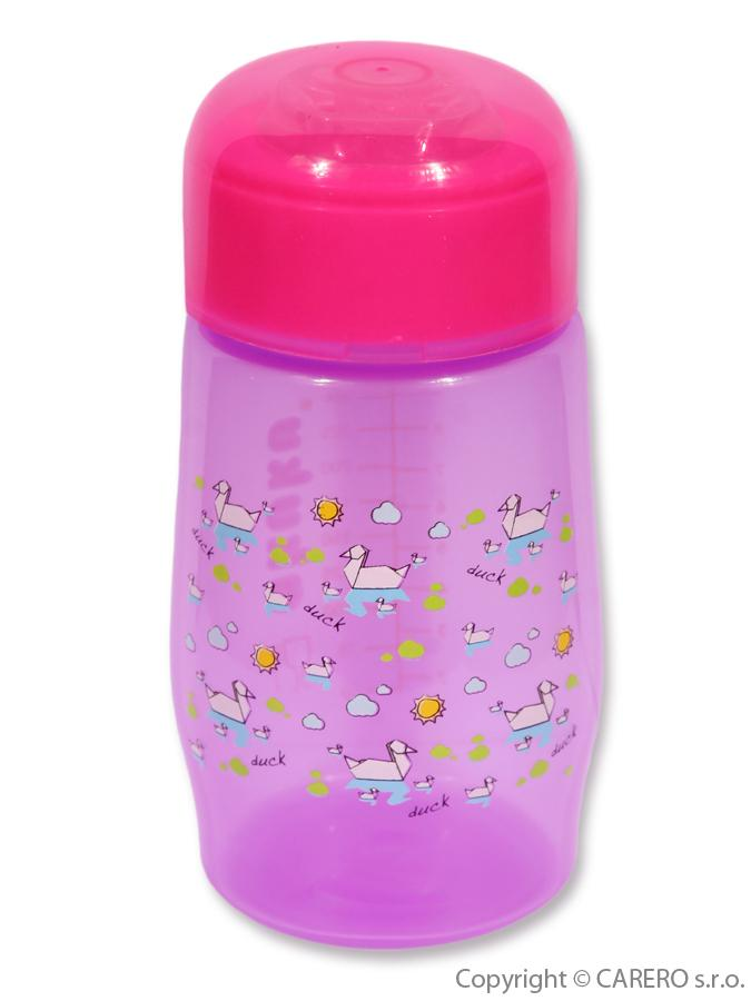 Fľaša so širokým hrdlom Akuku 300 ml fialová