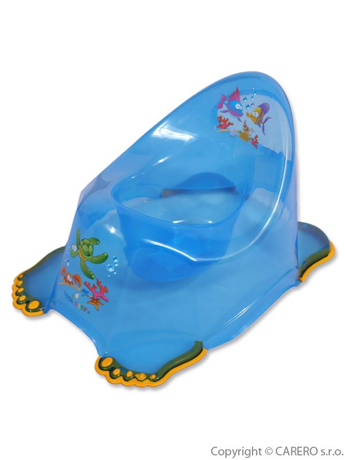 Detský nočník protišmykový modrý