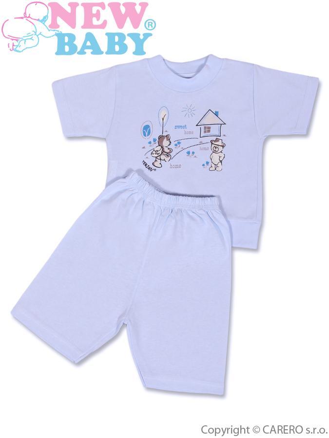 Detské letné pyžamo New Baby modré