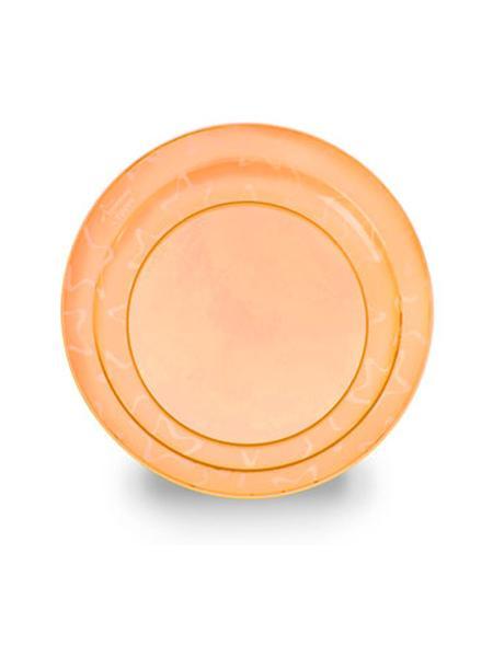 Detský tanierik Tommee Tippee oranžový - 3 ks