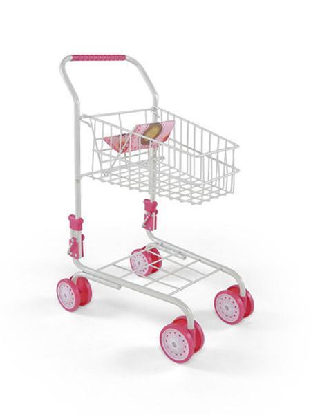 Detský nákupný košík Milly Mally Žofie ružovo-hnedý