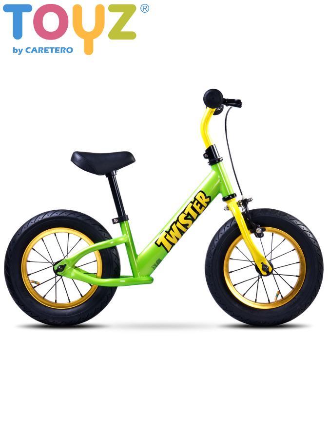Detské odrážadlo kolo Toyz Twister green