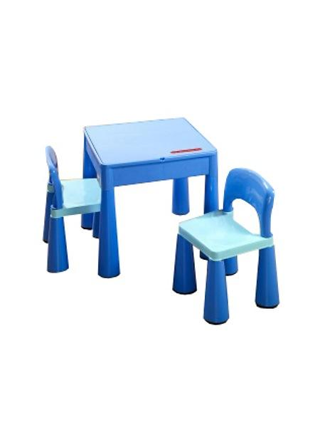 Detská sada stolček a dve lavičky