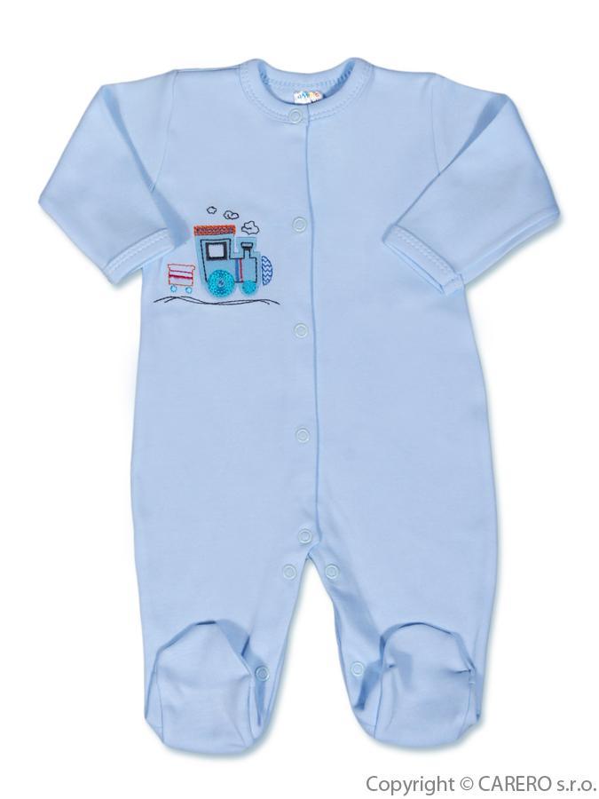 Dojčenský overal Amma Train modrý