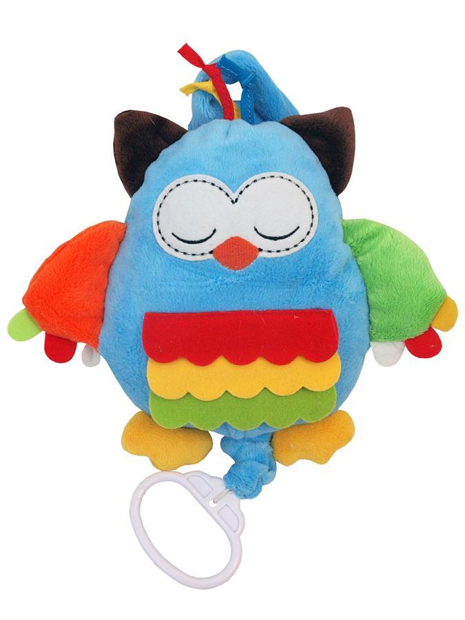 Plyšová hračka s hracím strojčekom Baby Mix sova
