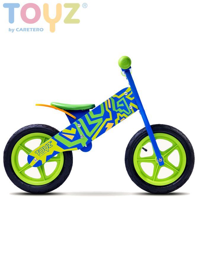 Detské odrážadlo kolo Toyz Zap blue- green