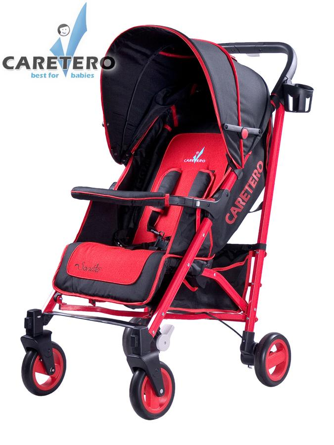 Športový kočík CARETERO Sonata red