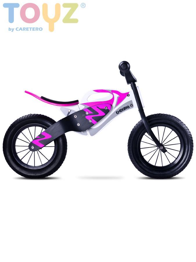 Detské odrážadlo bicykel Toyz Enduro purple