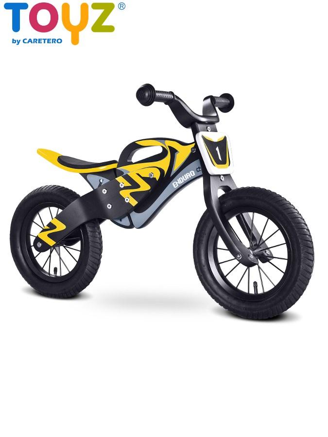 Detské odrážadlo bicykel Toyz Enduro yellow