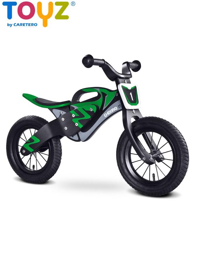 Detské odrážadlo bicykel Toyz Enduro green