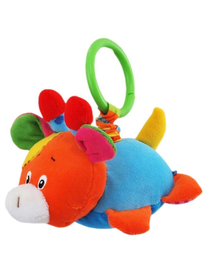 Plyšová hračka s vibráciou Baby Mix žirafa