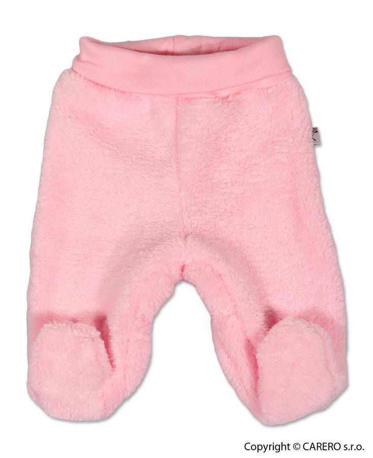 Fleecové polodupačky Baby Service Chlpáčik ružové