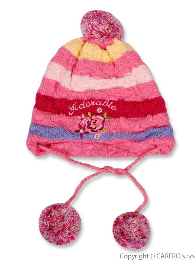 Detská zimná čiapočka Adorable
