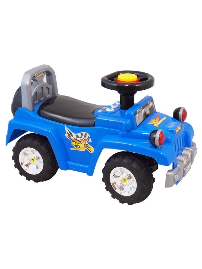 Detské jezdítko so zvukom Baby Mix modré