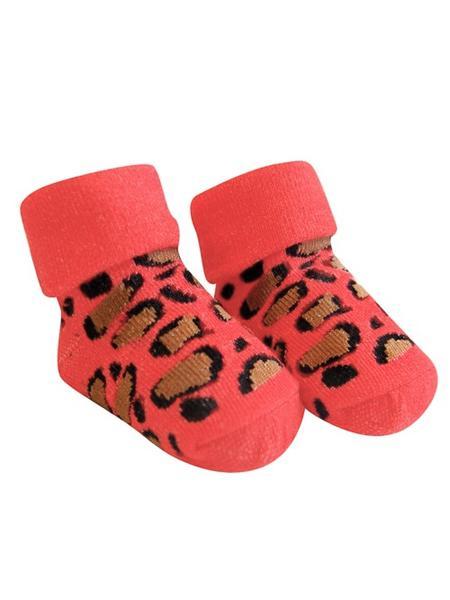 Dojčenské ponožky Bobo Baby červené