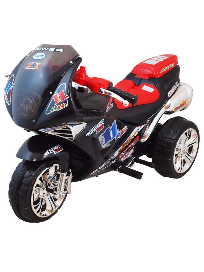 Športová elektrická motorka Baby Mix čierna