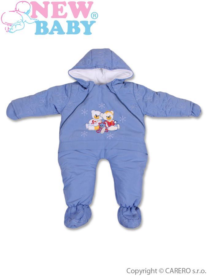 Zimná kombinéza New Baby modrá