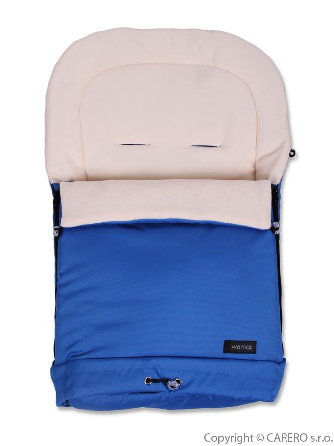 Fusak Womar 3v1 - fleece modrý