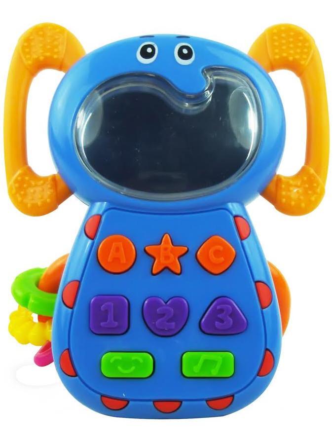 Detská hračka so zvukom Baby Mix Sloník