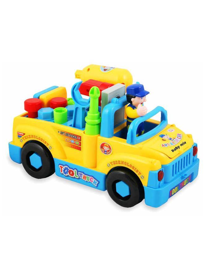 Edukačná hračka Baby Mix auto s náradím