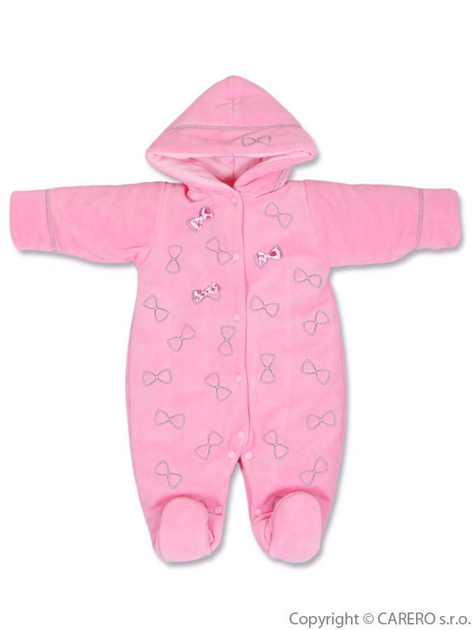 Zimný overal Bobas Fashion Babalu tmavo ružový