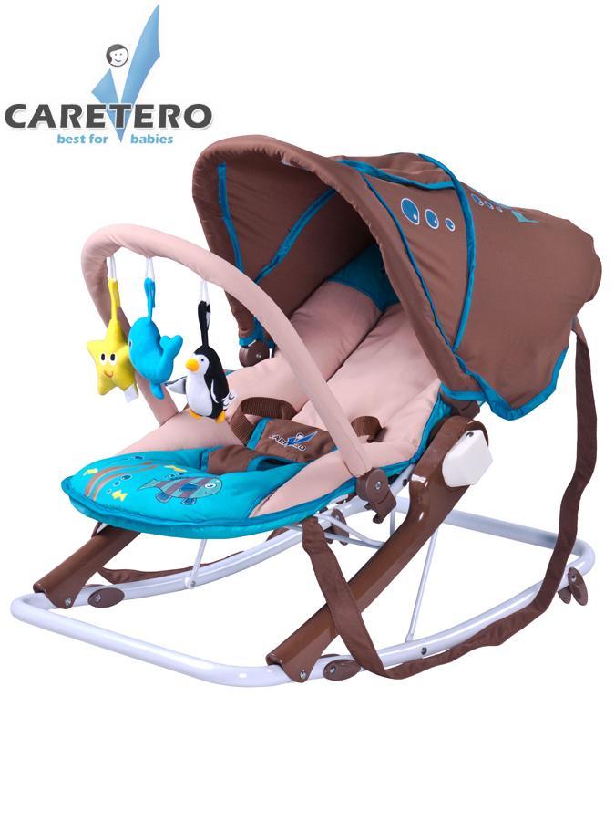 Detské ležadlo CARETERO Aqua brown