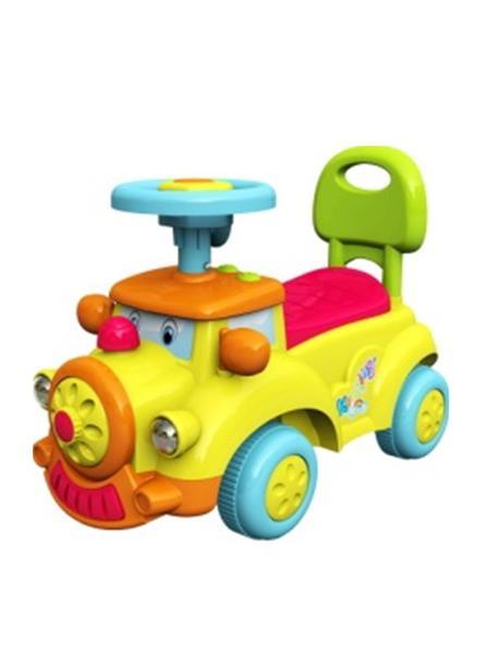 Detské Jezdítko so zvukom Baby Mix Happy Train žlté