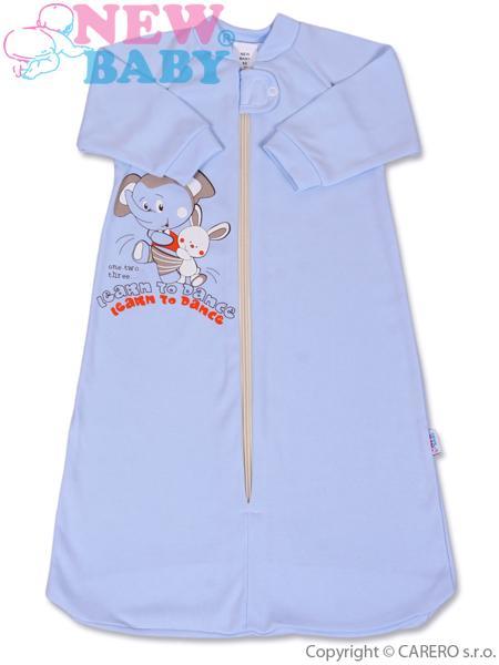 Dojčenský spací vak New Baby modrý
