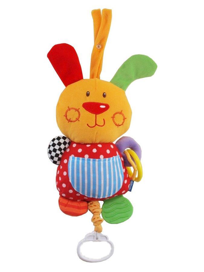 Detská plyšová hračka s hracím strojčekom Baby Mix králiček