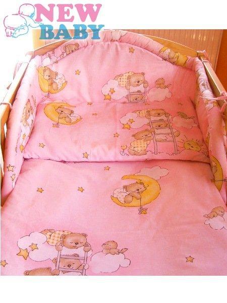 3-dielne posteľné obliečky 100/135 cm