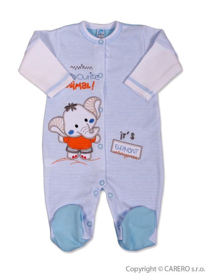 Dojčenský overal Koala Oli modrý