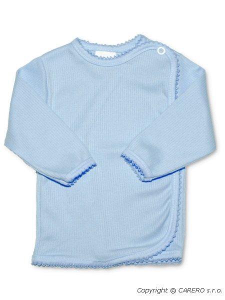 Dojčenská košieľka prúžkovaná New Baby modrá