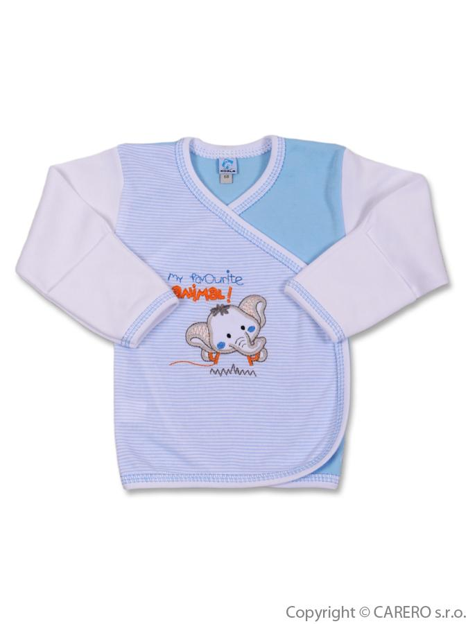 Dojčenská košieľka Koala Oli modrá