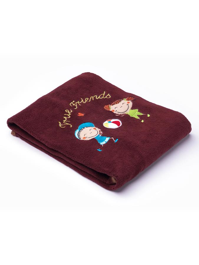 Detská deka Sensillo Deti 75x100 cm brown