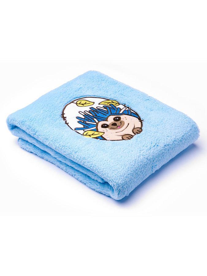 Detská deka Sensillo Lesné Zvieratká 75x100 cm blue