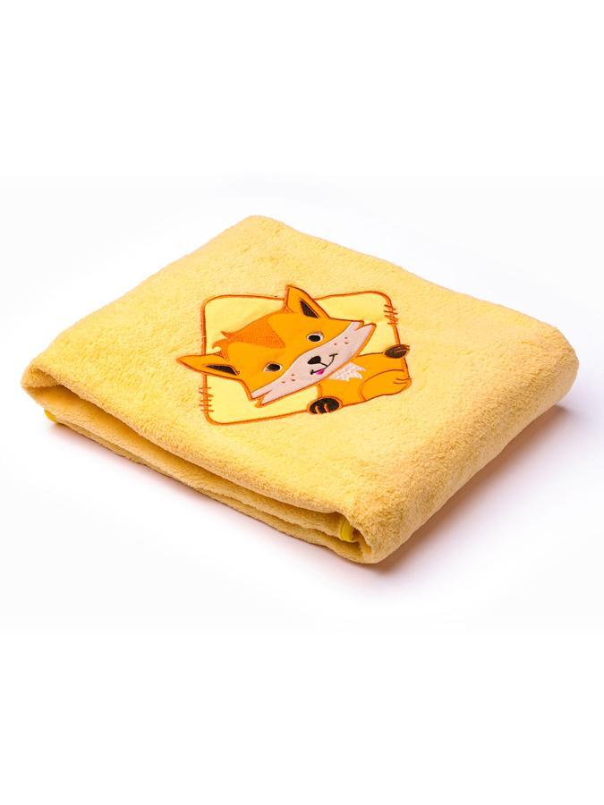 Detská deka Sensillo Lesné Zvieratká 75x100 cm beige