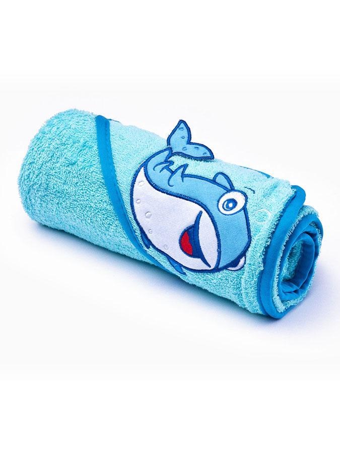 Detská osuška Sensillo 3D Zvieratká 75x75 cm blue