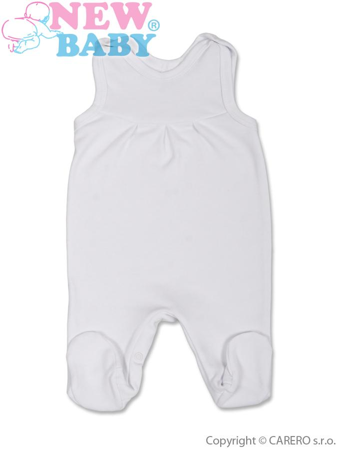 Dojčenské dupačky New Baby biele