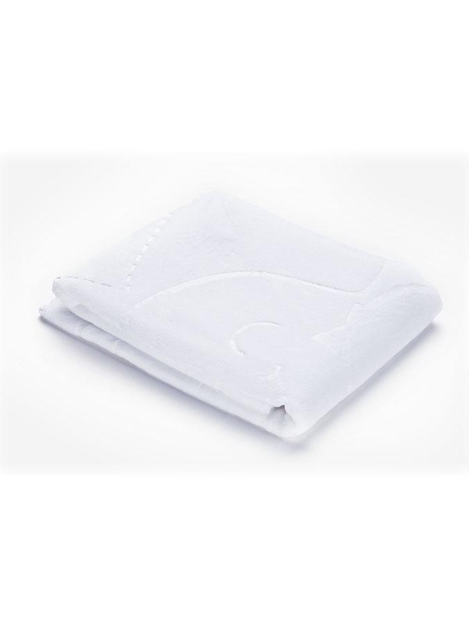 Detská semišová deka Sensillo 80x100 cm white