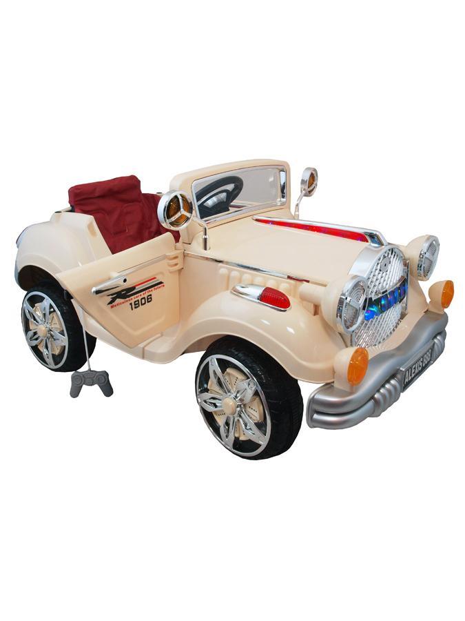 Detské elektrické auto Baby Mix KING bežové