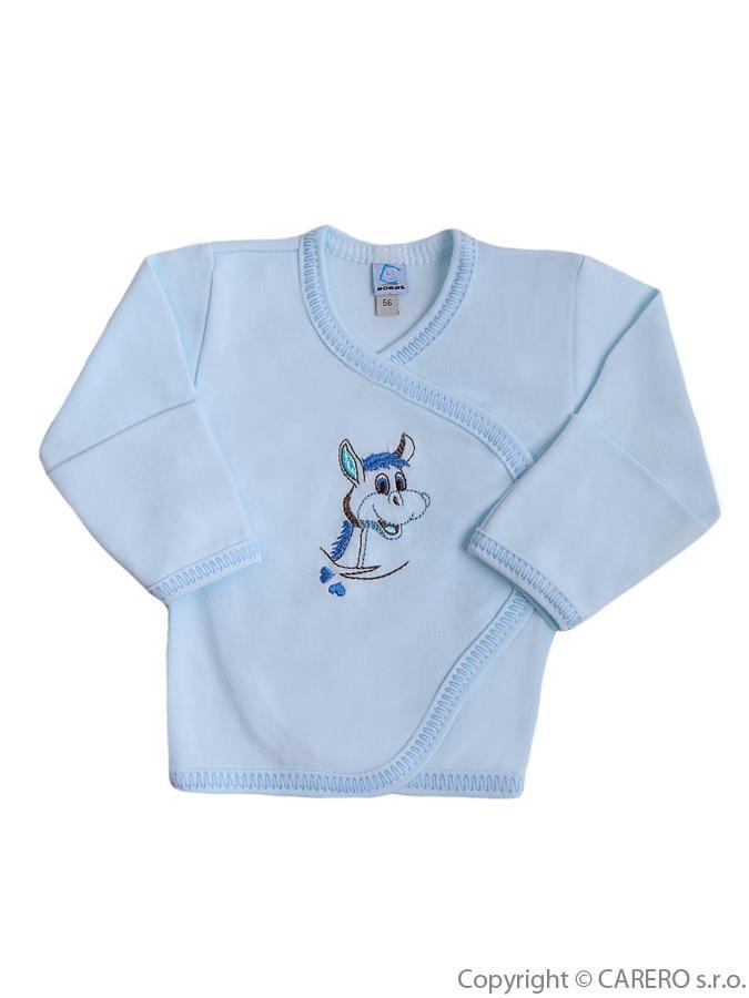 Dojčenská košieľka Bobas Fashion Somárik modrá