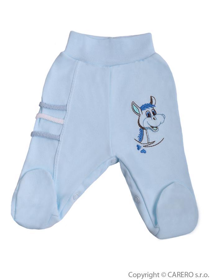 Dojčenské polodupačky Bobas Fashion Somárik modré