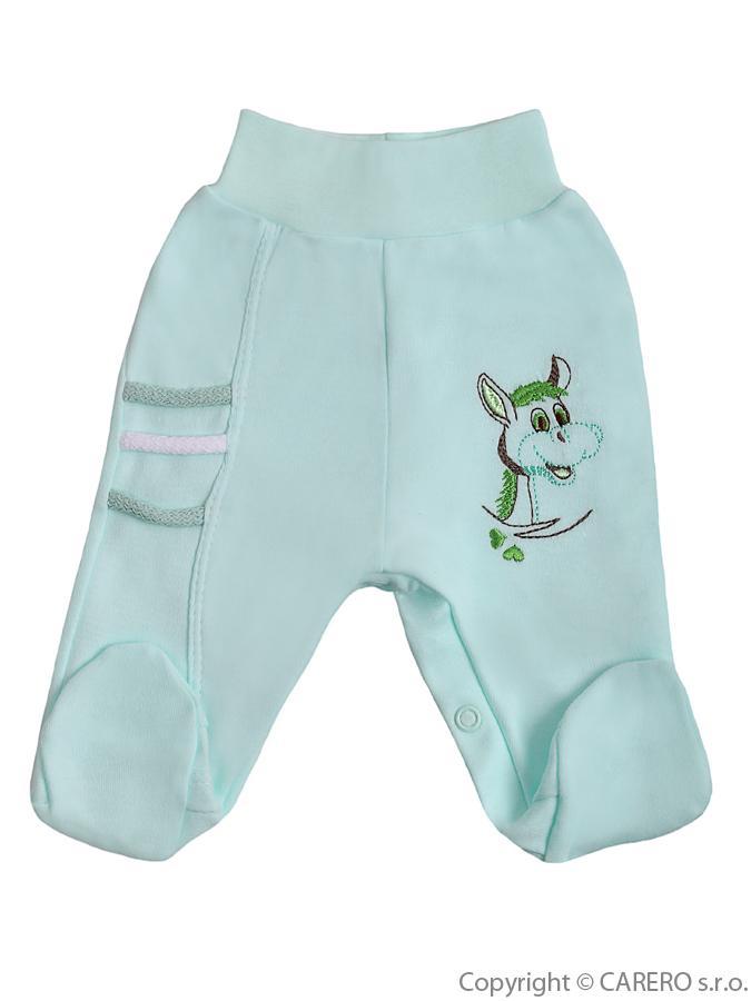 Dojčenské polodupačky Bobas Fashion Somárik zelené