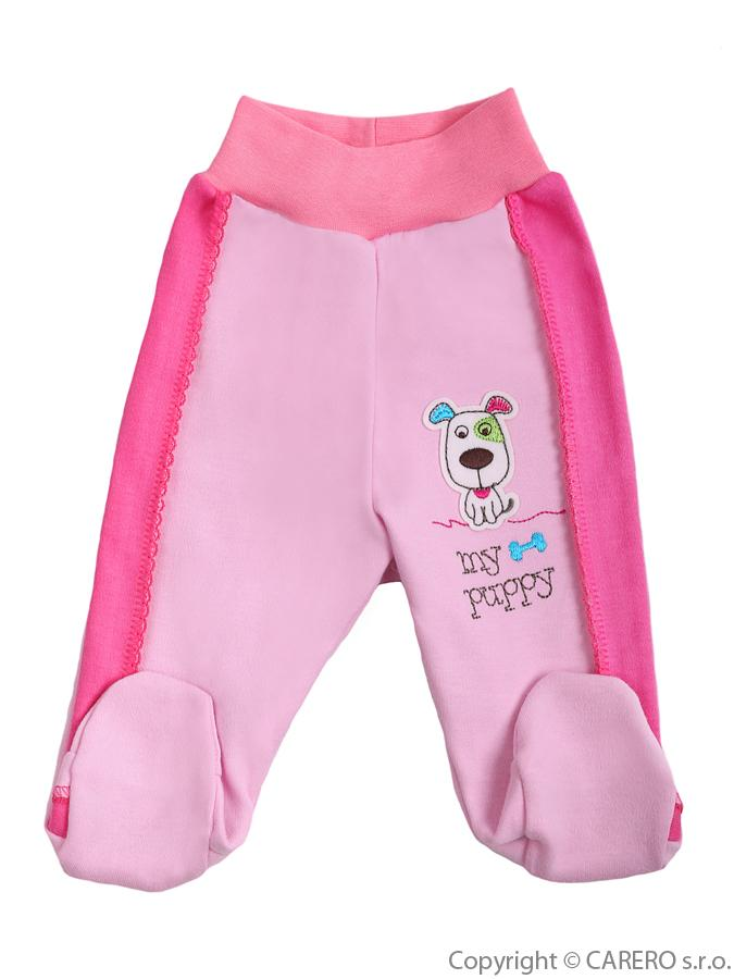 Dojčenské polodupačky Bobas Fashion Happy Balloon ružové