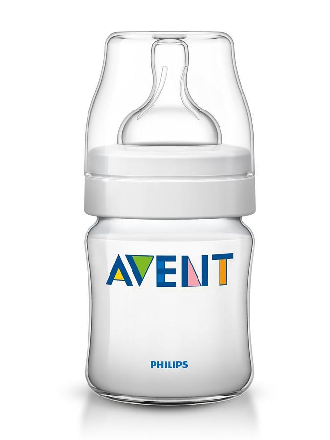 Dojčenská fľaša Avent Classic + 125 ml