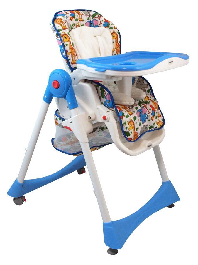 Jedálenská stolička Baby Mix modrá