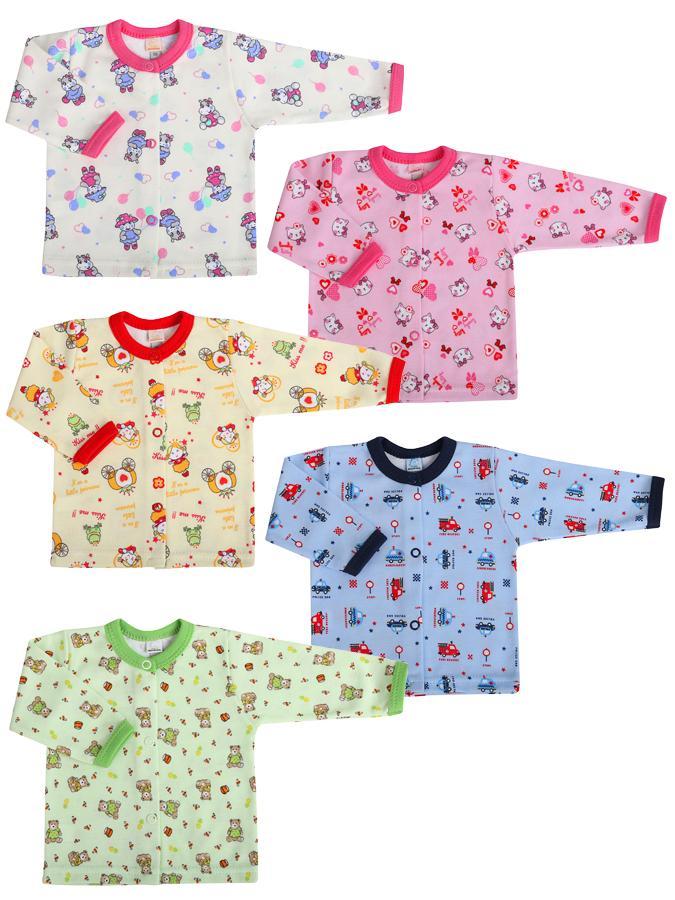 Dojčenský kabátik Bobas Fashion Obláčik - 5 ks