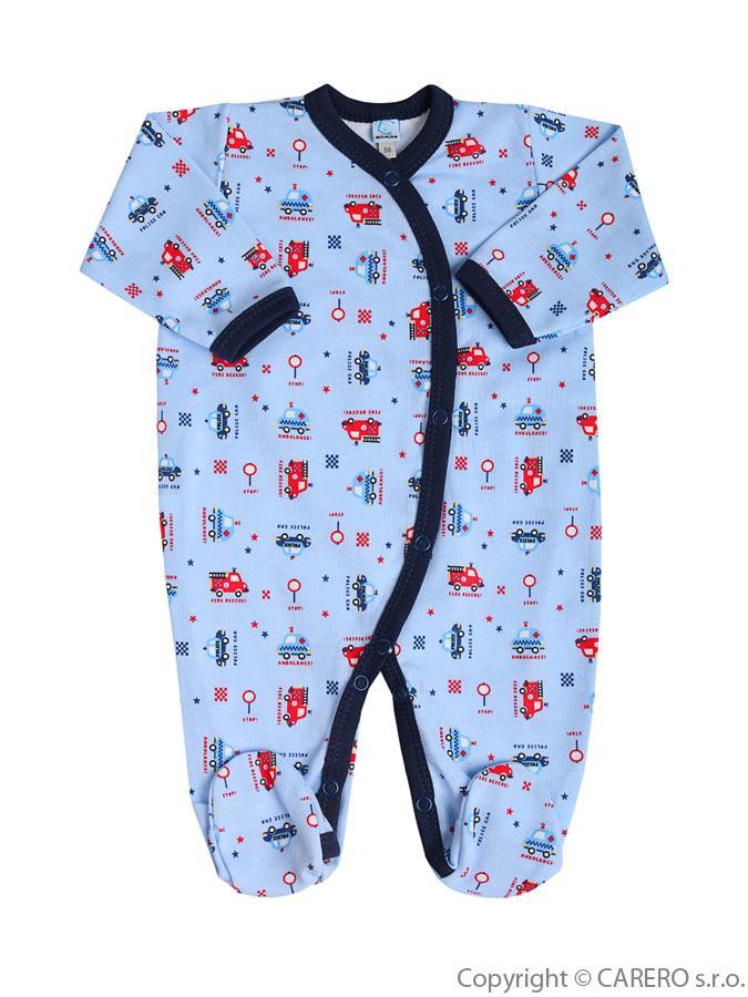 Dojčenský overal Bobas Fashion Obláčik modrý